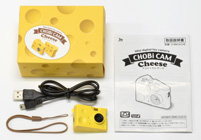 CHOBi CAM Cheese ちょビッカム チーズ 付属品